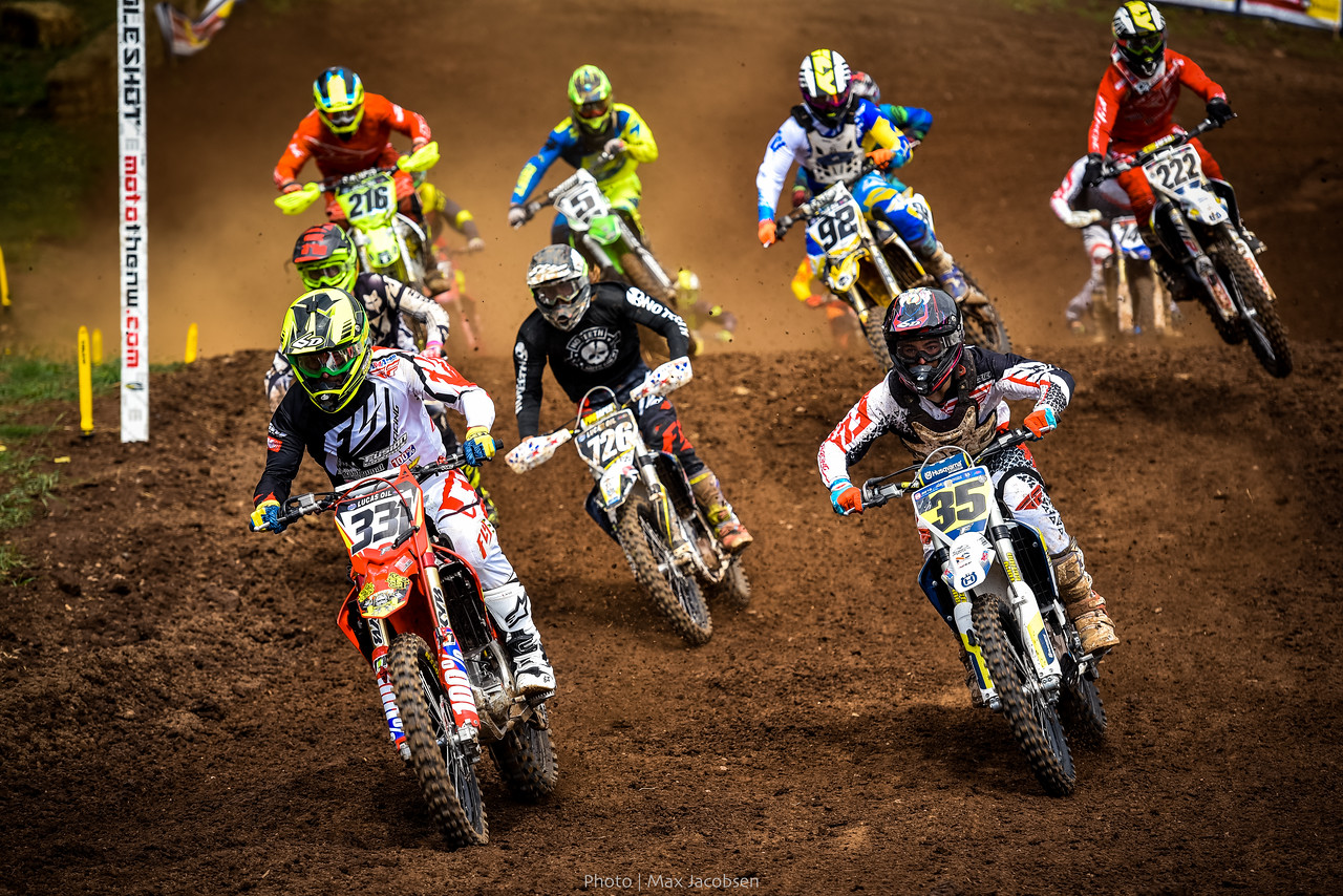 Another holeshot for Tommy Weeck