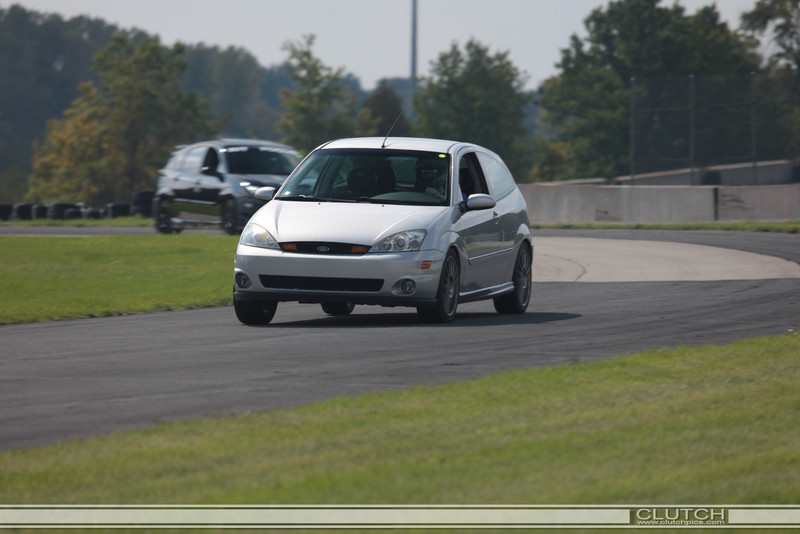 Black Audi at Waterford Hills Raceway Open Track day