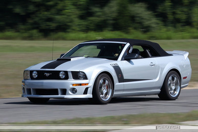 Silver Roush 427R at Waterford Hills Raceway: Exiting Swamp turn