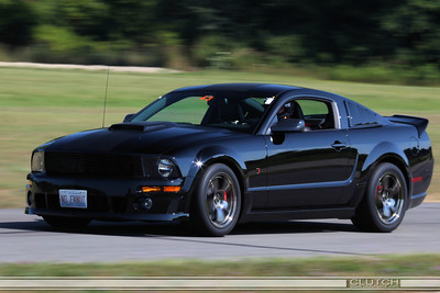2009 Roush Blackjack at Waterford Hills Raceway: exiting Swamp Turn