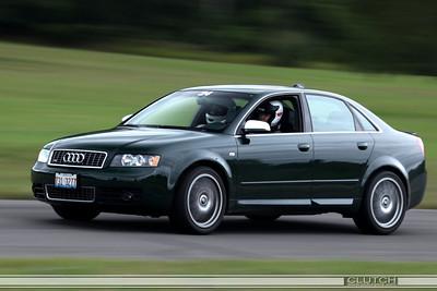 Black Audi at Waterford Hills