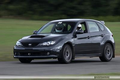 Black Subaru at Waterford Hills