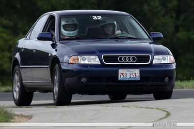 Blue Audi at Waterford Hills Raceway
