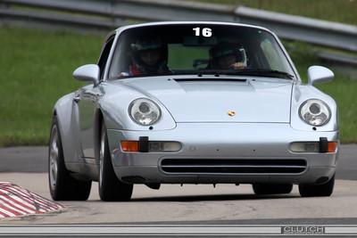 Silver Porsche @ Waterford Hills