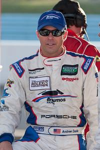 Brumos Racing driver Andrew Davis