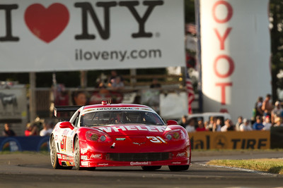 31 Marsh Racing Whelen Engineering Corvette drivers Eric Curran and Boris Said