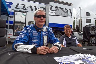 John Pew and Oz Negri of Michael Shank Racing