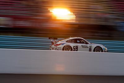 59 Brumos Racing Porsche GT3 drivers Andrew Davis and Leh Keen