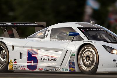 5 Action Express Racing Corvette drivers Terry Borcheller, David Donohue and Jordan Taylor