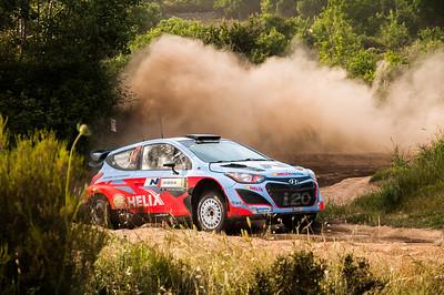 "06.06.2014 - Rally Italia Sardegna 2014 - Special Stage 7 ""Terranova Sud"". Neuville / Gilsoul. Hyundai i20 WRC."