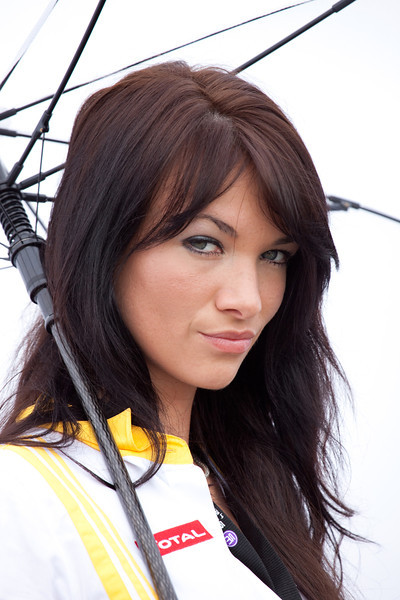 Renault F1 Team Grid Girl
