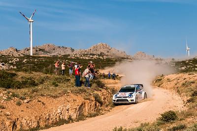 "07.06.2014 - Rally Italia Sardegna 2014 - Special Stage 13 ""Monte Lerno"". Volkswagen Polo R WRC. Latvala / Anttila."