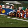 Dani Pedrosa crash out at turn15 during qualifying but managed a pole position