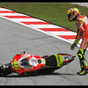 Valentino Rossi, after he crash out at turn9 at qualifying