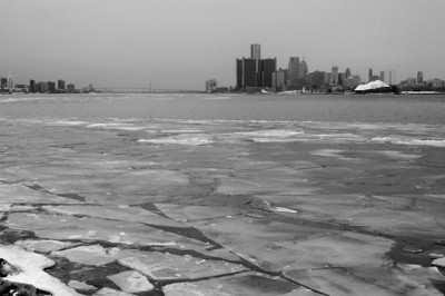 Detroit | Ice on the Detroit River | Wayne County