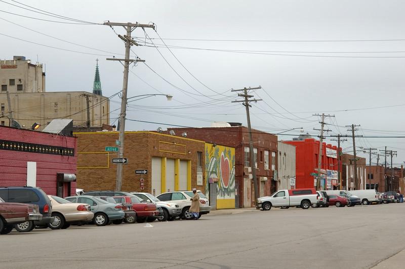 <br> <br> Businesses at  Eastern Market in Detroit <br> <br>