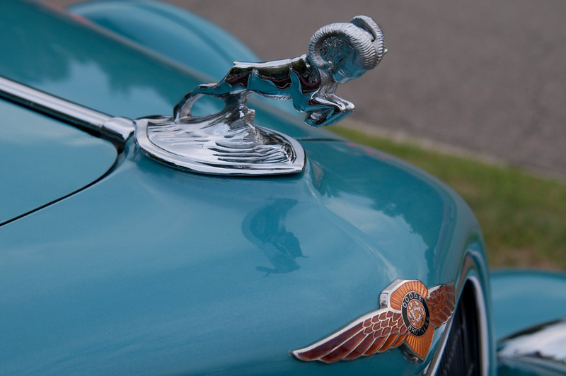 <br> <br> Hood Ornament of a 1934 Dodge <br> <br>