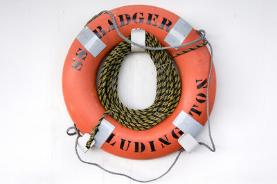 Life Preserver of the SS Badger