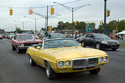 Firebird at the Woodward Dream Cruise