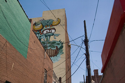 Mural at the Eastern Market in Detroit