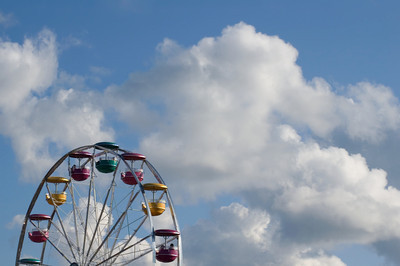 Ferris Wheel on a Michigan County Fair   buy: digital download