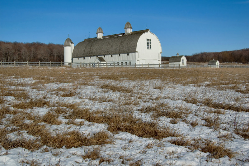 """<br> <br> Historic D.H. Day Barn near Empire <br> <br> buy:<a href=""""http://www.istockphoto.com/stock-photo-5068915-winter-barn.php"""" > digital download</a>"""