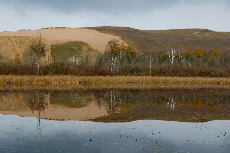 <br> <br> The Sleeping Bear Dune Climb in Fall <br> <br>