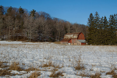 Red Barn near Glen Arbor   buy: digital download