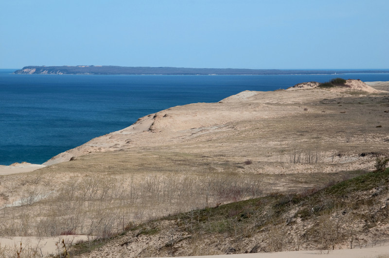 """<br> <br> Sleeping Bear Dunes and South Manitou Island <br> <br> buy:<a href=""""http://www.istockphoto.com/stock-photo-17219170-sleeping-bear-dunes.php"""" > digital download</a>"""
