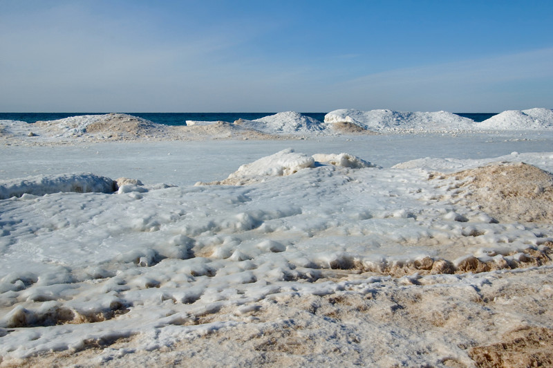 """<br> <br> Ice Castles at Empire Beach <br> <br> buy:<a href=""""http://www.istockphoto.com/stock-photo-5267677-lake-michigan-icecastles.php"""" > digital download</a>"""