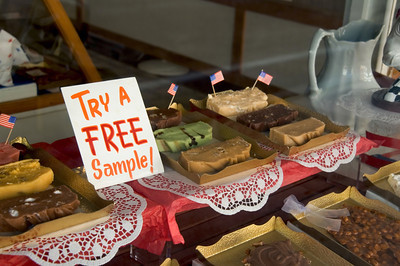 Fudge Shop on Mackinac Island