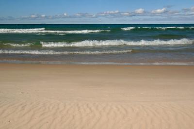 Lake Michigan at Cathead Bay   buy: digital download