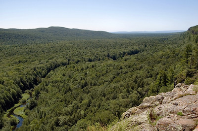 Carp River in the Porcupine Mountains