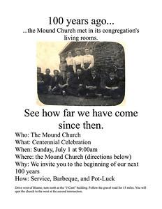 July 1, 2012 Centennial