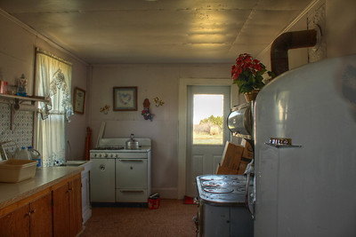 The kitchen prior to the renovations.
