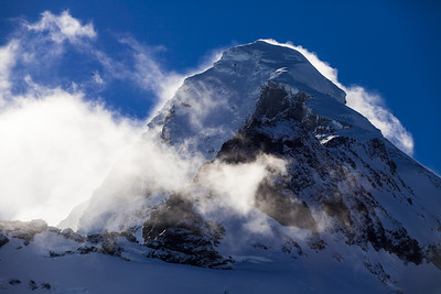 North West Ridge and North Buttress of Mount Aspiring