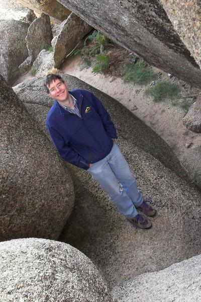 JB, inside Mahomet's tomb.