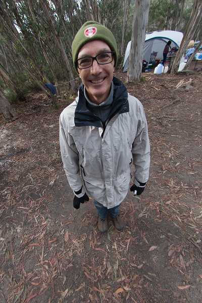 Nicholas Gold in 2012 - through a fisheye lens.