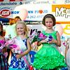 From left: 1st runner-up, Pristine Fisher; Little Miss Ag Days, Brookyln Bertram; 2nd runner-up, Makenlee Seals; and 2015 Little Miss Ag Days, Violet Miller.