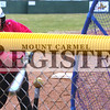 Marcus Smith/The Register<br /> <br /> Carli Merritt, 10, practices batting March 5 at a baseball field at Railroad and s Mulberry Streets. She was part of a small group of girls practicing 10 and under travel league. Thier first games are March 19 and 20 in Olney.