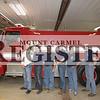 Keensburg Fire Department (L to R)Wayne Hocking (Chief), Jordan Byrns, Mark Wright (Lieutenant), Kegan Bogard, Wayne Kennard, Robert Murray (Captain)