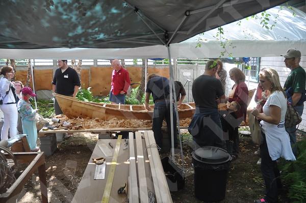 Abbe canoe build