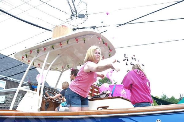 Flamingo Festival parade