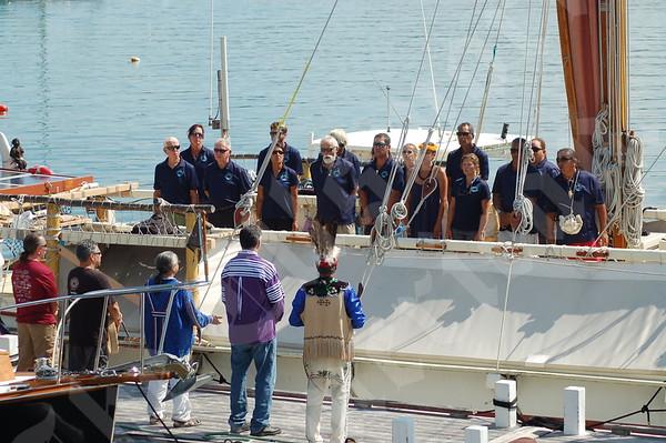 Hōkūleʻa Canoe Arrival
