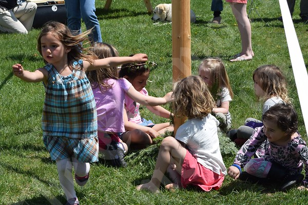 May Day Maypole Dancing