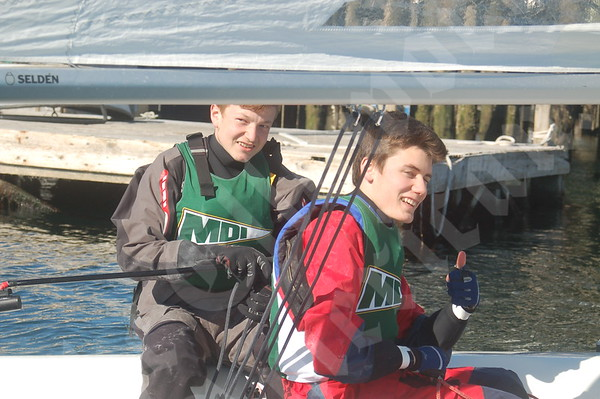MDI and GSA sailing scrimmage