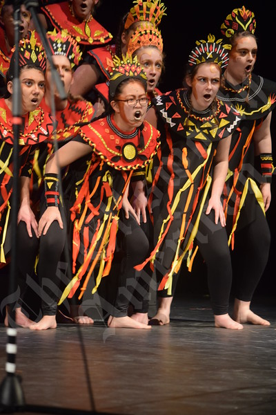 Mount Desert Island High School's 2018 Show Choir production
