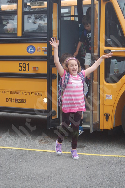Trenton Elementary first day