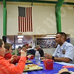 Veterans' lunch and assembly at Tremont Consolidated School, Nov. 8, 2019.