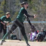 MDI softball against Presque Isle